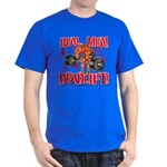REAL MEN DEADLIFT! - Royal Blue T-Shirt