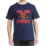 REAL MEN DEADLIFT! - Navy T-Shirt