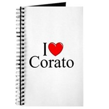 "I Love (Heart) Corato"" Journal"