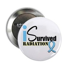 "Prostate Cancer Radiation 2.25"" Button"