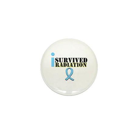 Prostate Cancer Radiation Mini Button
