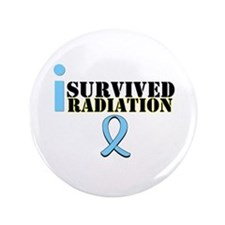 "Prostate Cancer Radiation 3.5"" Button"