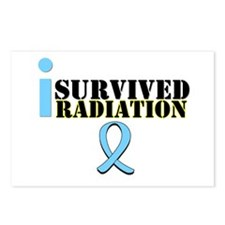 Prostate Cancer Radiation Postcards (Package of 8)