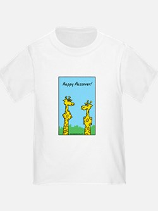 giraffes passover T-Shirt