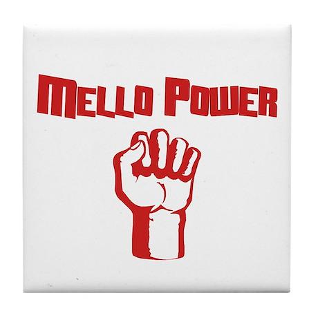 Mello Power Tile Coaster