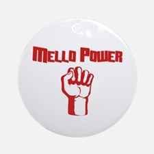 Mello Power Ornament (Round)