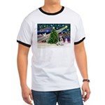 Xmas Magic/PBGV (#1) Ringer T