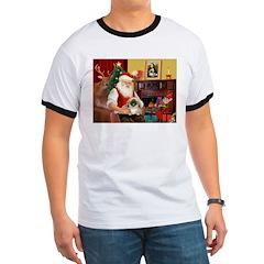 Santa's Pekingese (#1b) T
