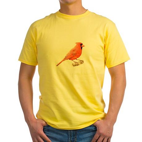 Lovely Cardinal Yellow T-Shirt