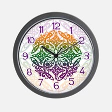 Celtic Mandala Emblem Wall Clock