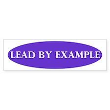 LeadByExample_Bumper Bumper Bumper Sticker