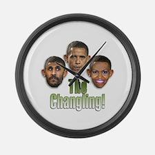 Obama Large Wall Clock