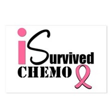 I Survived Chemo Postcards (Package of 8)