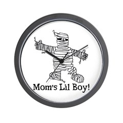 The Mummy's Boy Wall Clock