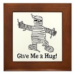 Get a Halloween Hug with this Framed Tile