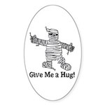 Get a Halloween Hug with this Oval Sticker (10 pk)