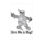 Get a Halloween Hug with this Rectangle Sticker 1