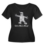 Get a Halloween Hug with this Women's Plus Size Sc
