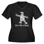 Get a Halloween Hug with this Women's Plus Size V-