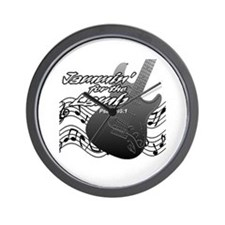 Guitar Praise Wall Clock