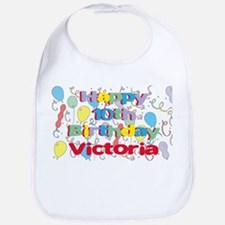 Victoria's 10th Birthday Bib
