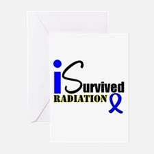 I Survived Radiation Greeting Cards (Pk of 10)