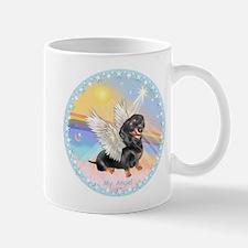 Clouds/Dachshund Angel Mug
