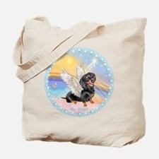 Clouds/Dachshund Angel Tote Bag