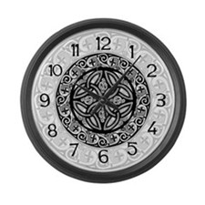 Celtic Shield Large Wall Clock