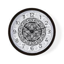 Celtic Shield Wall Clock