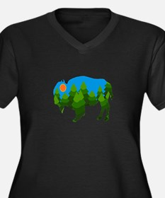 FOREST Plus Size T-Shirt