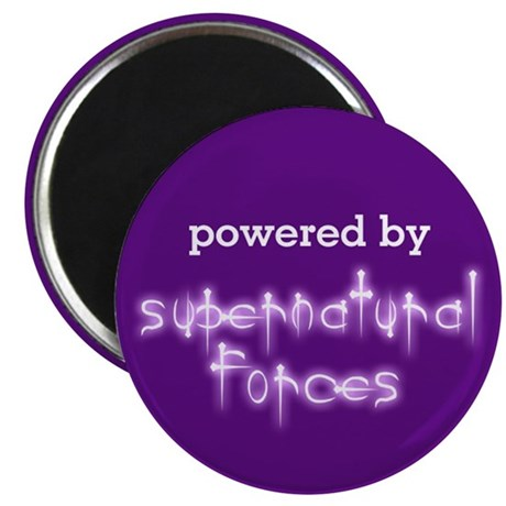Powered By Supernatural Force Magnet
