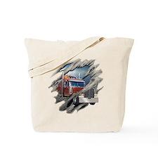 Torn Trucker Tote Bag