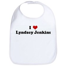 I Love Lyndsey Jenkins Bib
