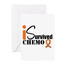 I Survived Chemo Greeting Cards (Pk of 10)