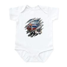Torn Trucker Infant Bodysuit