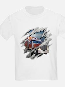 Torn Trucker T-Shirt