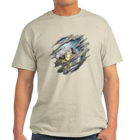 Torn Wolf Light T-Shirt