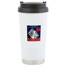K-2 Memorial Travel Coffee Mug