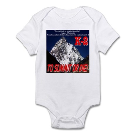 K-2 Memorial Infant Bodysuit