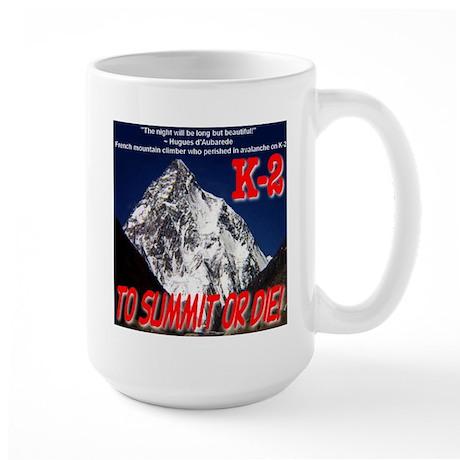 K-2 Memorial Large Mug