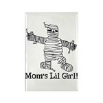 The Mummy's Girl Rectangle Magnet (10 pack)