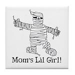 The Mummy's Girl Tile Coaster