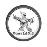 The Mummy's Girl Wall Clock