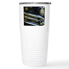 Black Chrome Travel Mug