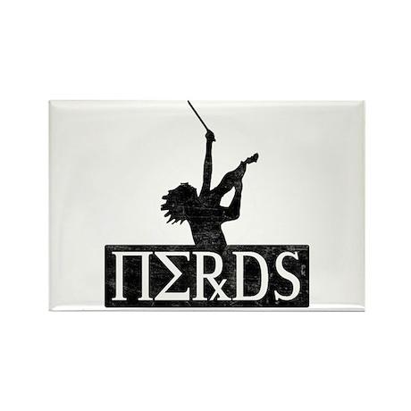 Revenge Of The Nerds Rectangle Magnet (100 pack)