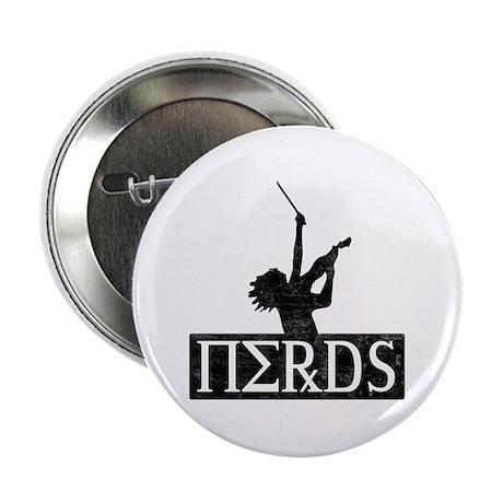 "Revenge Of The Nerds 2.25"" Button (100 pack)"