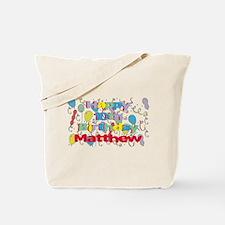 Matthew's 10th Birthday Tote Bag