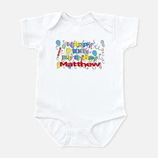 Matthew's 10th Birthday Infant Bodysuit