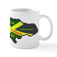 617Apparel Jamaica map Mug